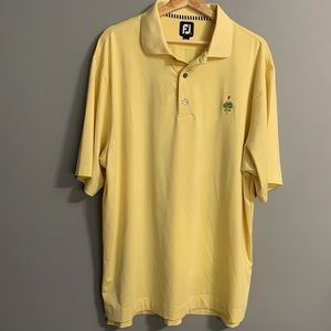 Footjoy Mens Golf Polo Shirt Size Large